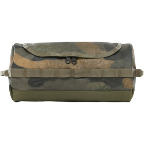 The North Face Base Camp Travel Canister L burnt olive green waxed camo print
